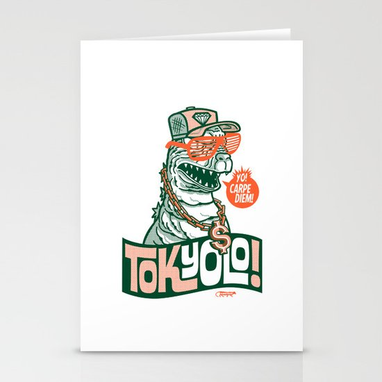 Tokyolo ($imple variant) Stationery Cards