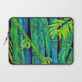 ʻOhe Polū - Blue Bamboo Laptop Sleeve
