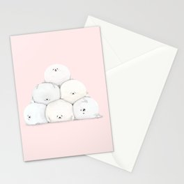 Harp Seal Pups Stationery Cards
