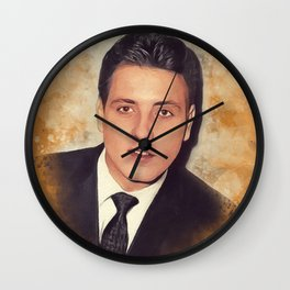 Eddie Cochran, Music Legend Wall Clock