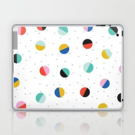 Color Block Dots Laptop & iPad Skin