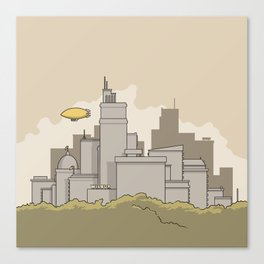 City #2 Canvas Print
