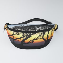 Sunset Through The Oaks Fanny Pack