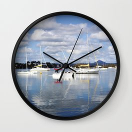 Noosa Morning Wall Clock