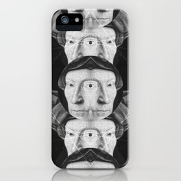 Homme au turban rouge — Flemish Division iPhone Case