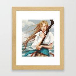 Nalia de Bastion Framed Art Print