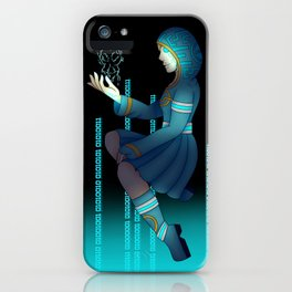 Techno witch iPhone Case