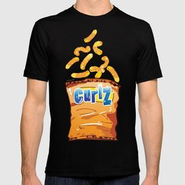 Cheese Curls : Junkies Collection T-shirt