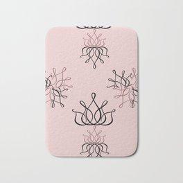 The Lux: Pink Bath Mat