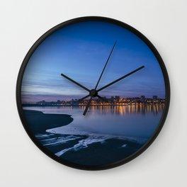 Porto across the river. Wall Clock