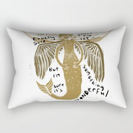 Not exactly Sure Rectangular Pillow