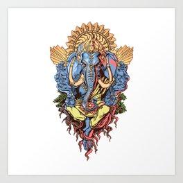 INDIA--GOD Art Print