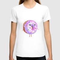 donut T-shirts featuring Donut by Zaksheuskaya