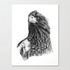 Steller's sea eagle G2013-073 Canvas Print