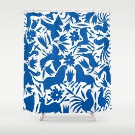 otomi blue Shower Curtain