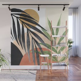 Abstract Tropical Art VI Wall Mural