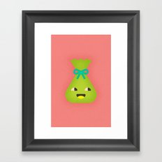 Party Goodie Bag Framed Art Print