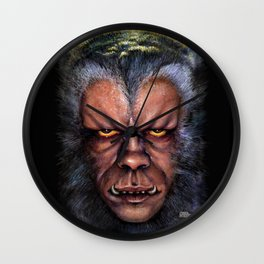 The Werewolf Curse Wall Clock