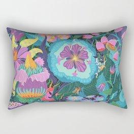 The Double Bee Rectangular Pillow