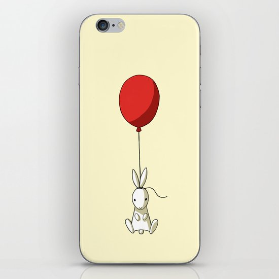 Balloon Bunny iPhone & iPod Skin