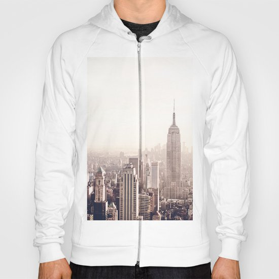 New York City Above the Cityscape Hoody
