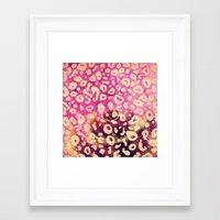 jaguar Framed Art Prints featuring Jaguar by Camilla Loureiro