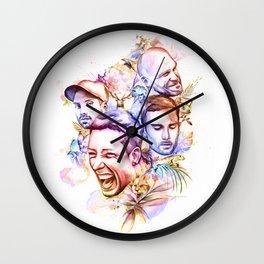 Colorful Wall Clock
