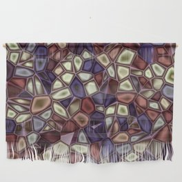 Fractal Gems 01 - Fall Vibrant Wall Hanging
