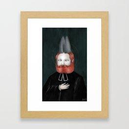 Encarnación: Verbo Divino Framed Art Print