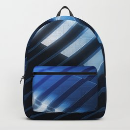 Techno Abstraction Backpack