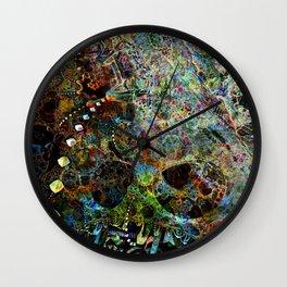 Q21Hybrid6-Squared Wall Clock