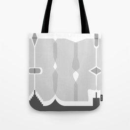 Asymmetry 1 Tote Bag