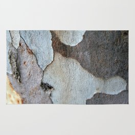 Peeling Bark Of A Eucalyptus Gum Tree Rug