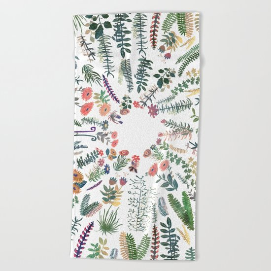 MY BEST GARDEN! Beach Towel