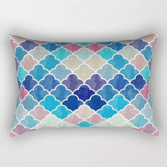 Watercolor Lovely Pattern VVXV Rectangular Pillow