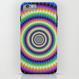 Psychedlic Rings iPhone Case