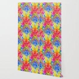 Rainbow Sunshine Tie Dye Wallpaper