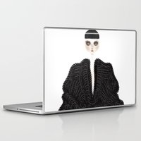 goth Laptop & iPad Skins featuring Elegant goth by \nicolafleming