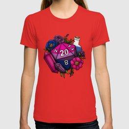 Pride Bisexual D20 Tabletop RPG Gaming Dice T-shirt