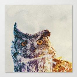Ugle Canvas Print