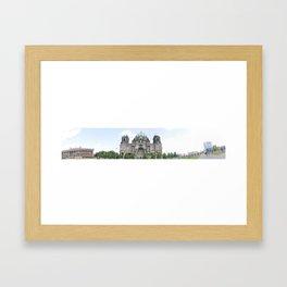 Berlin Dome Framed Art Print