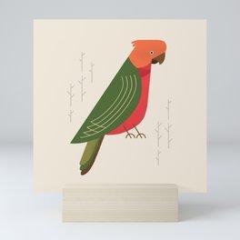 Australian King Parrot, Bird of Australia Mini Art Print