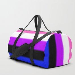 Genderfluid Pride Flag Duffle Bag