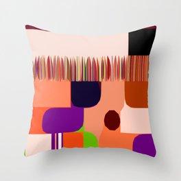 SincroniZided Throw Pillow