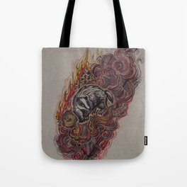 Badger of Wildfire Tote Bag