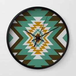 Geometric tribal decor Wall Clock