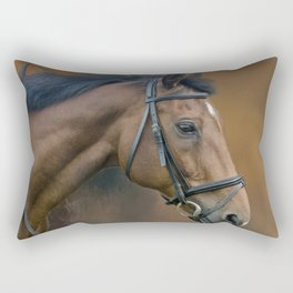 Horse portrait Rectangular Pillow