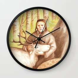 Rana ~ A Compendium Of Witches Wall Clock