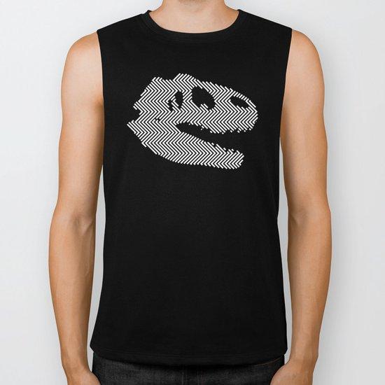 Tyrannosaurus Rex Skull Biker Tank
