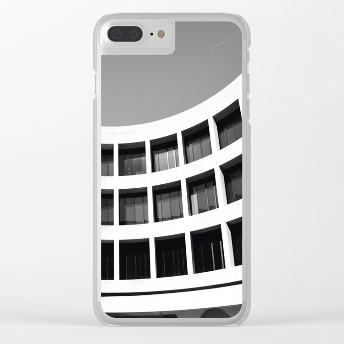 Brutal Arch Clear iPhone Case